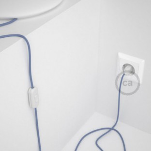 Lamp wiring, RM07 Lilac Rayon 1,80 m. Choose the colour of the switch and plug.
