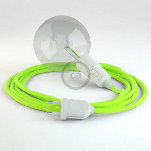 Create your RF10 Yellow Fluo Snake and bring the light wherever you want.