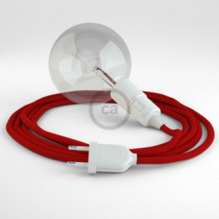 Create your RC35 Fire Red Cotton Snake and bring the light wherever you want.