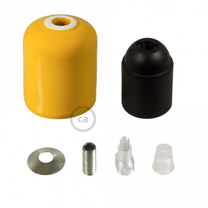 Ceramic E27 lamp holder kit