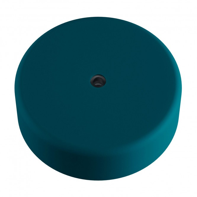 EIVA Cylindrical outdoor ceiling rose kit IP65 - in soft touch silicone
