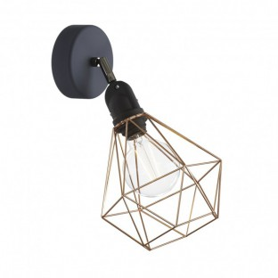 Fermaluce EIVA with Diamond lampshade and adjustable joint