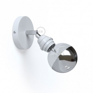 Fermaluce Metal 90°, the adjustable wall or ceiling light source E27 threaded lamp holder