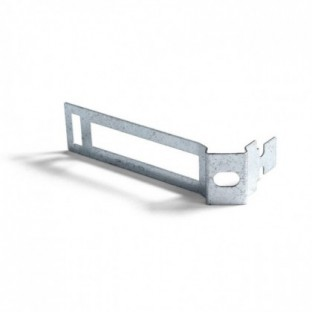 Metal cable tie clip for 30mm diameter rope cable