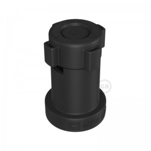 E27 black thermoplastic lamp holder for String Lights