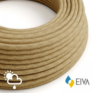 Outdoor round electric cable covered in Jute SN06 - IP65 suitable for EIVA system