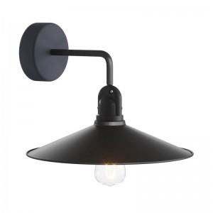 Fermaluce EIVA with L-shaped extension and Swing lampshade
