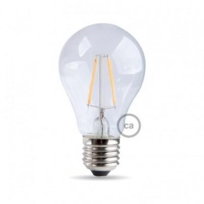 Light bulb filament Led Drop 7W E27 Clear Dimmable