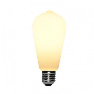 Led Porcelain Light Bulb ST64 6W E27 Dimmable 2700K
