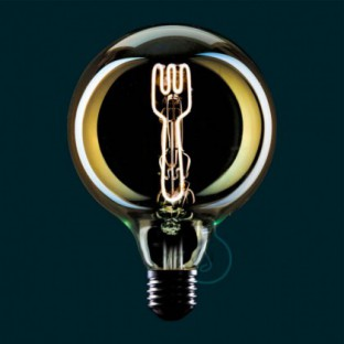 LED Light Bulb Globe G125 Masterchef line Fork Filament 4W E27 Dimmable 2000K
