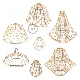 We just can't get enough of our new bulb cages: We're proud to present the copper finish!