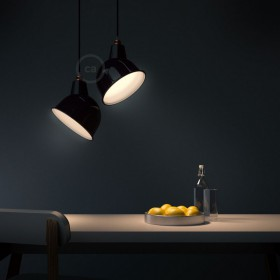 Creative-Cables' new polished metal lampshades: Timeless design!