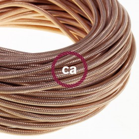 The new copper covered cables