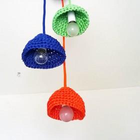 Brunella Bertinetti: nautical rope handmade lampshades