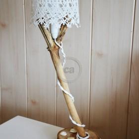 Stephanie Rebhan-Brüne: crochet lamp