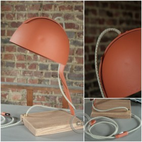 Vincent Deltombe: lamp Fonda