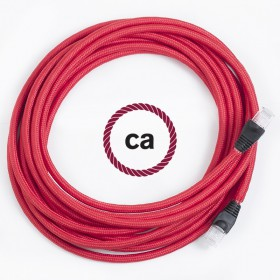A new arrival...the lan-ethernet cable covered by rayon fabric!